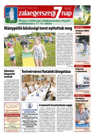Zalaegerszegi 7 Nap - 2018. 06. 08. by Maraton Lapcsoport Kft. - issuu 6de684b4f7