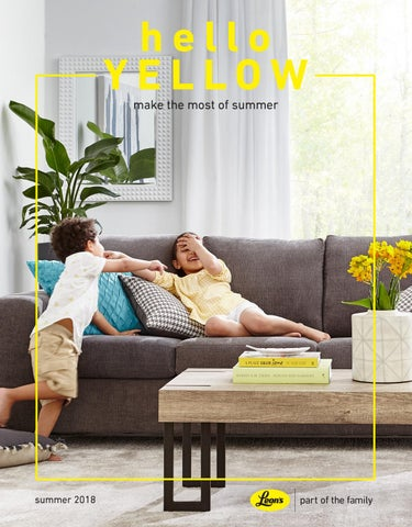 Awe Inspiring Hello Yellow Summer 2018 By Leons Furniture Issuu Gamerscity Chair Design For Home Gamerscityorg