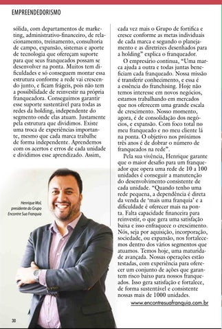 Page 30 of CADERNO NEGÓCIOS & OPORTUNIDADES - INVERNO 2018