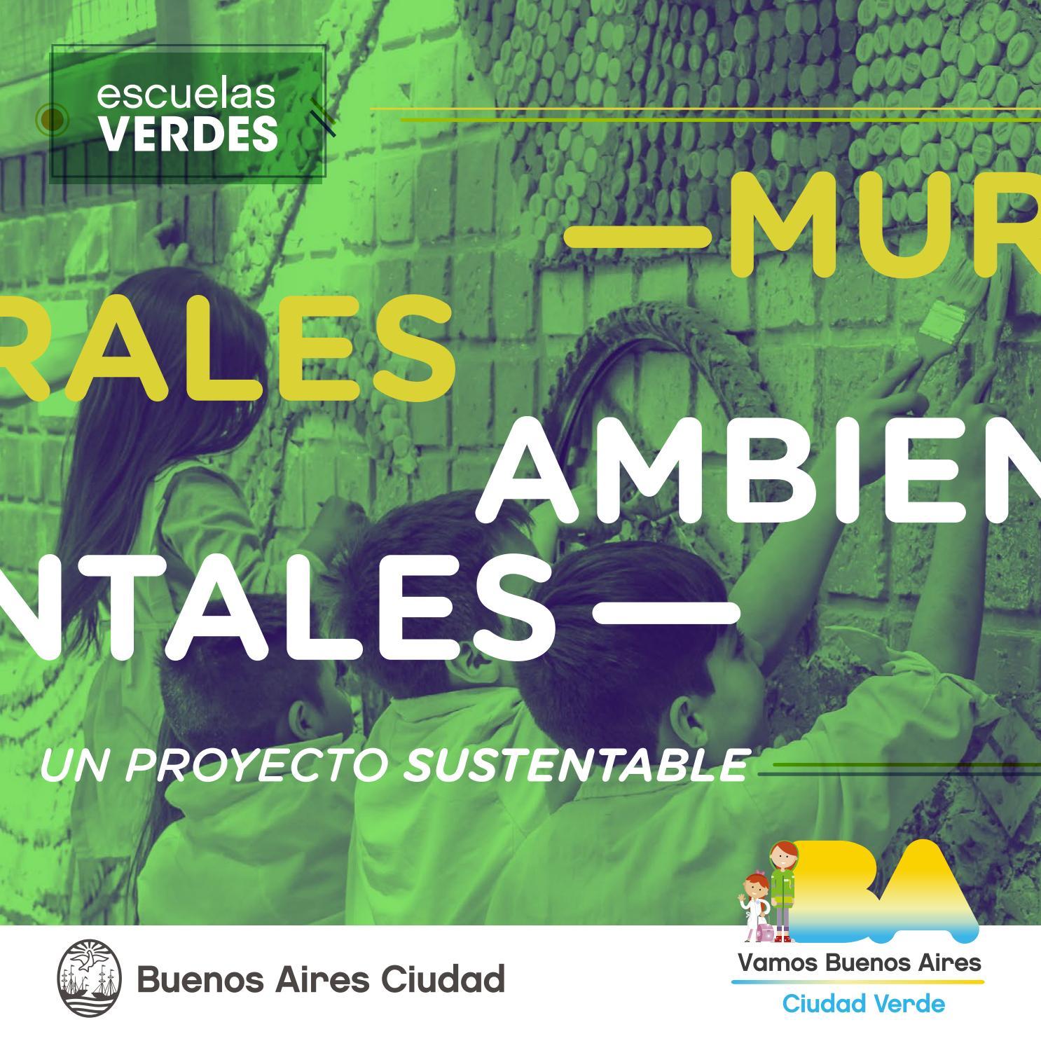 Murales Ambientales Escuelas Verdes By Escuelas Verdes Issuu