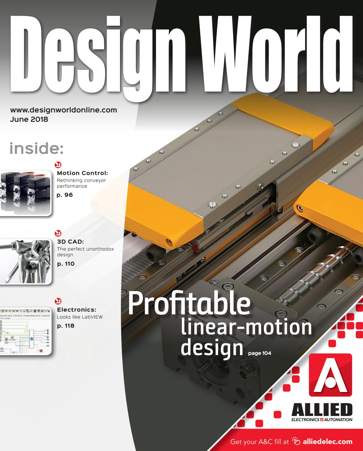 Design World June 2018 By Wtwh Media Llc Issuu Jlg 20am Wiring Diagram