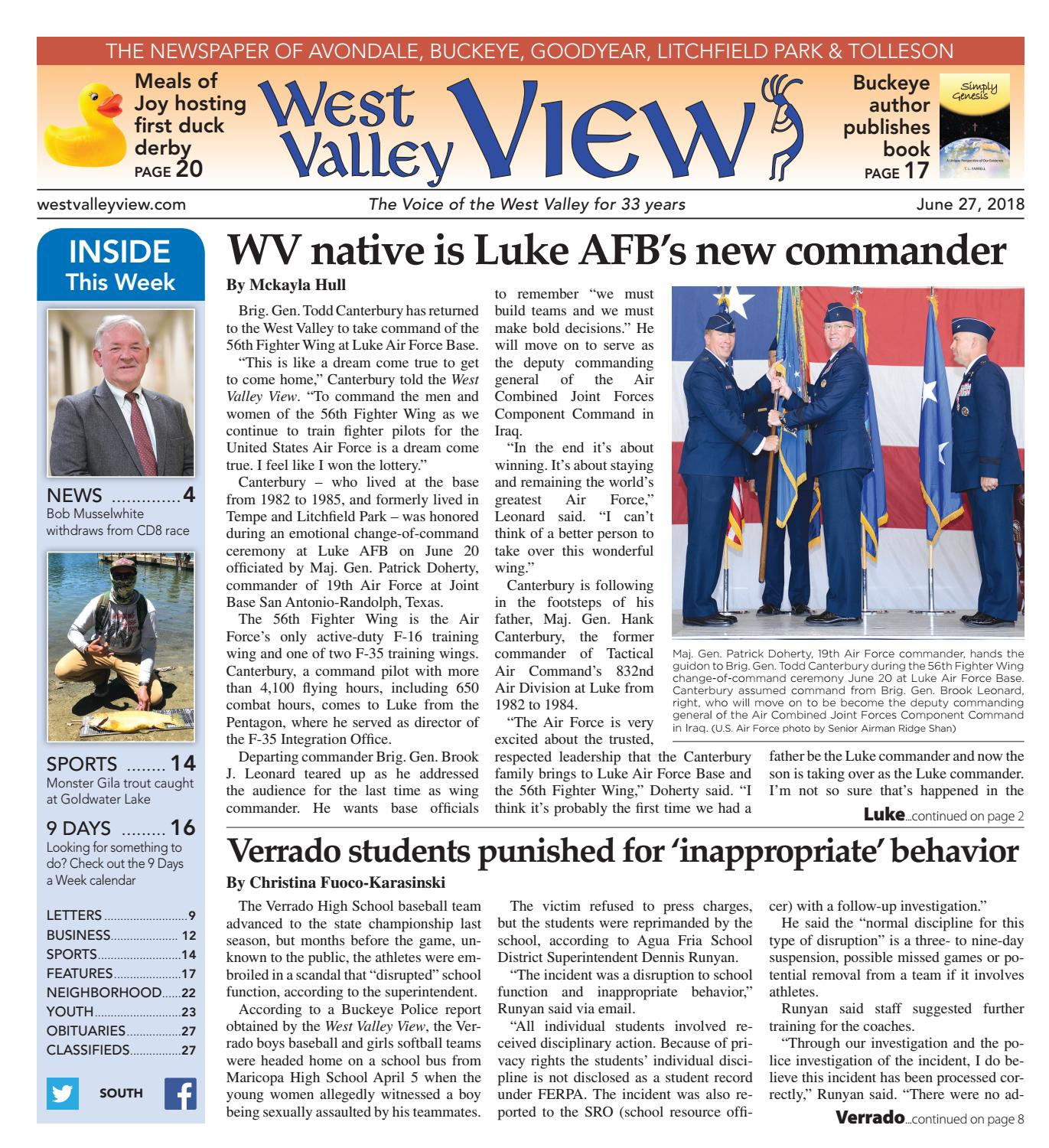 West Valley View South June 27 2018 by Times Media Group issuu