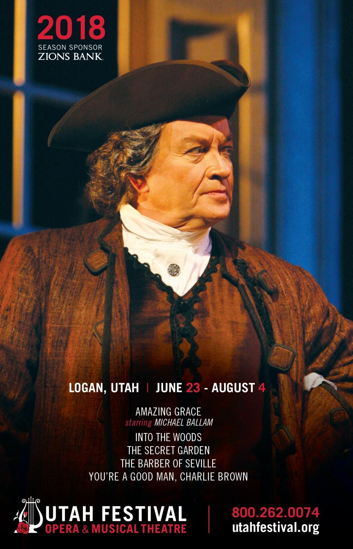 Utah Festival Opera Musical Theatre 2018 By Mills Publishing Inc Issuu
