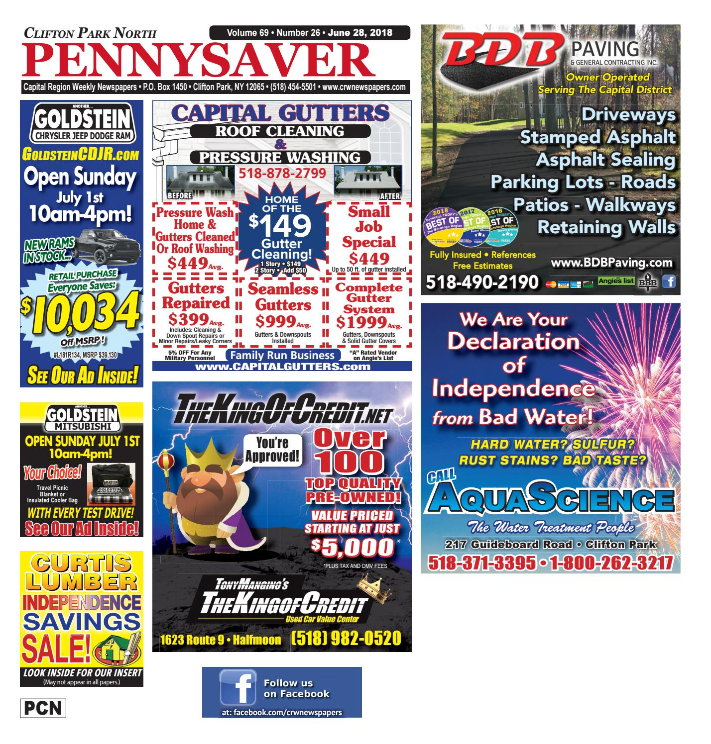 Clifton Park North Pennysaver 062818 By Capital Region