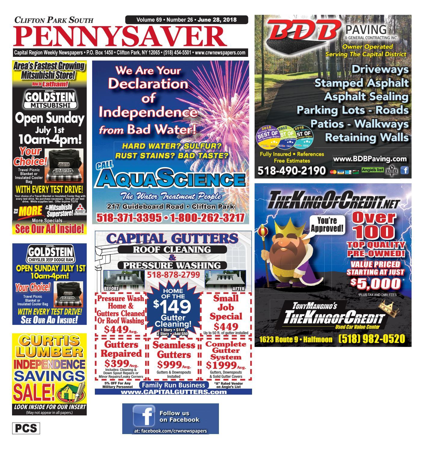 Clifton Park South Pennysaver 062818 By Capital Region