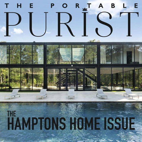 hot sale online b81cd 8bbae The Portable Purist- Hamptons Home Issue by The Purist - issuu