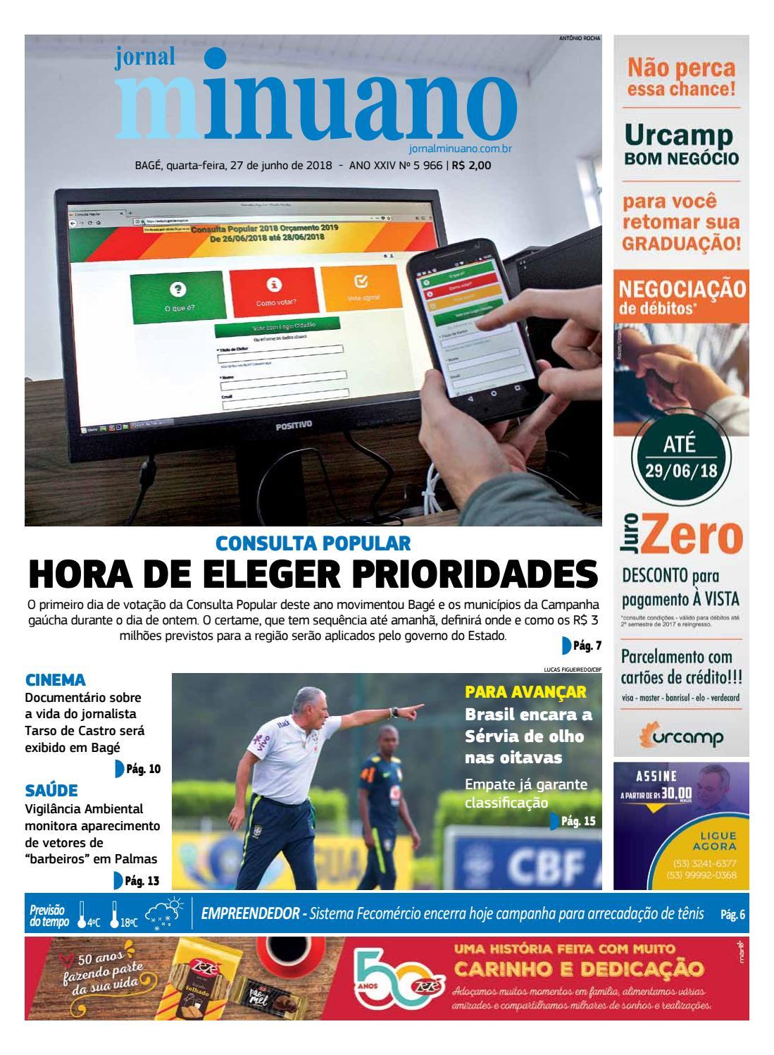 a97c25b4e1f 20180627 by Jornal Minuano - issuu