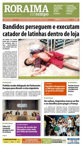 5cff7e80bab6e Jornal roraima em tempo – edição 968 by RoraimaEmTempo - issuu