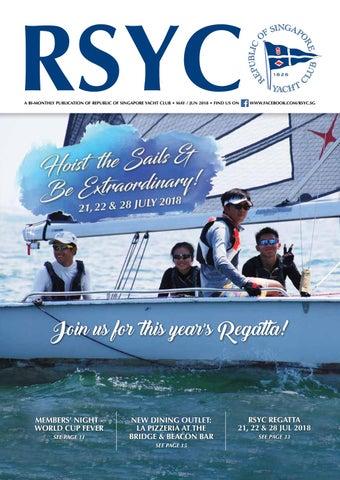 8ee4caf0f RSYC MAGAZINE MAY-JUN 2018 by Republic of Singapore Yacht Club - issuu