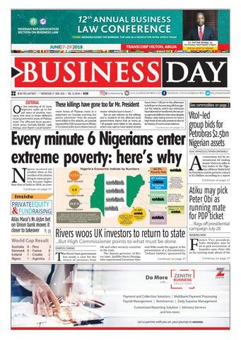 Businessday 27 jun 2018 by BusinessDay - issuu