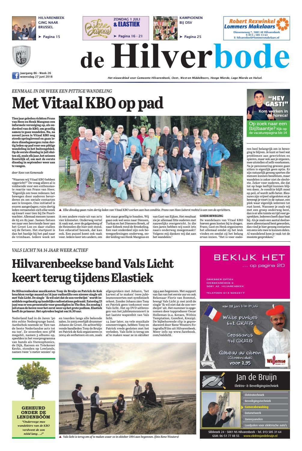 eab67cd394e De Hilverbode 27-06-2018 by Uitgeverij Em de Jong - issuu