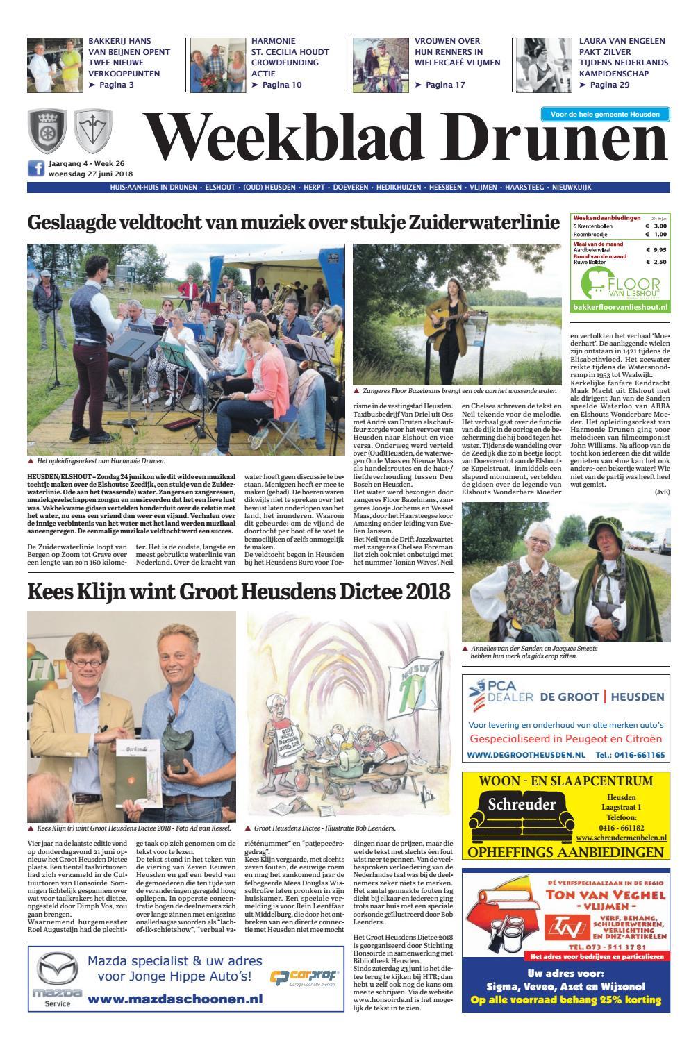780ab1d9102 Weekblad Drunen 27-06-2018 by Uitgeverij Em de Jong - issuu
