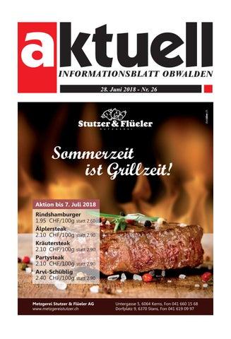 Aktuell Obwalden 26 2017 by Aktuell Obwalden AG issuu