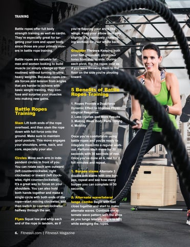 Page 6 of Strengthen Your Body with Battle Ropes