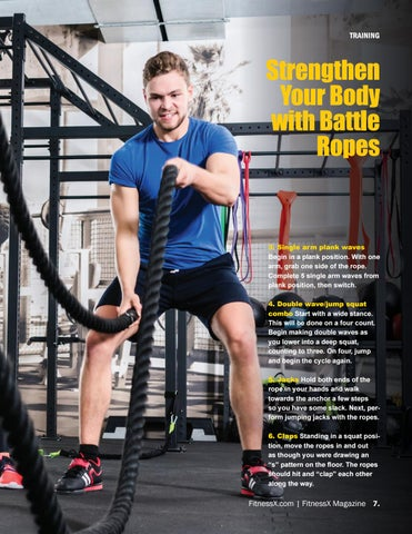 Page 7 of Strengthen Your Body with Battle Ropes