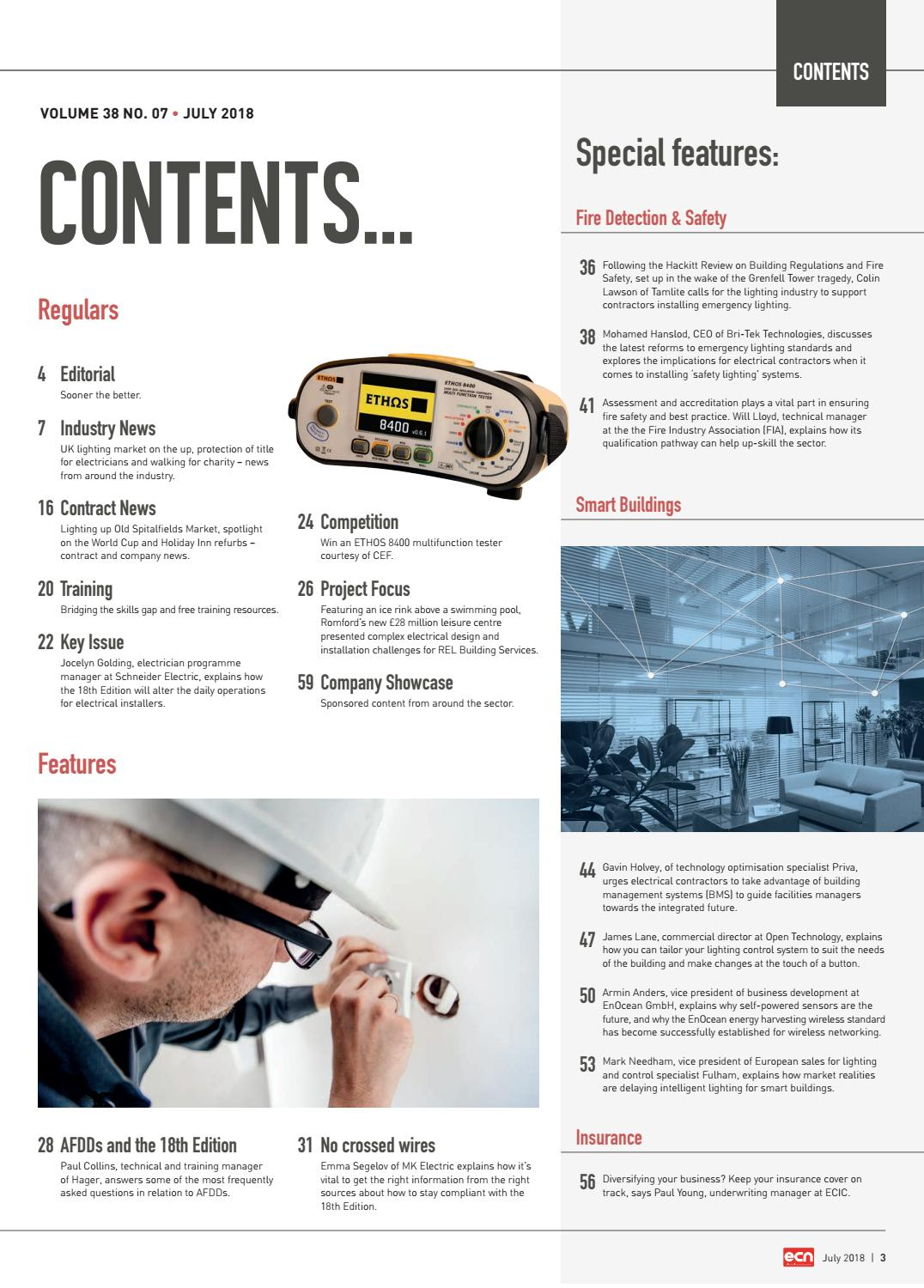 Ecn July 2018 By All Things Media Issuu Emergency Lighting 6 Best Images Of Wiring