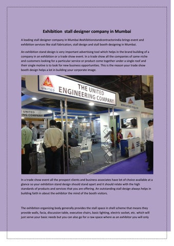 Exhibition Stall Companies : Exhibition stall designer company in mumbai by amazing arts group