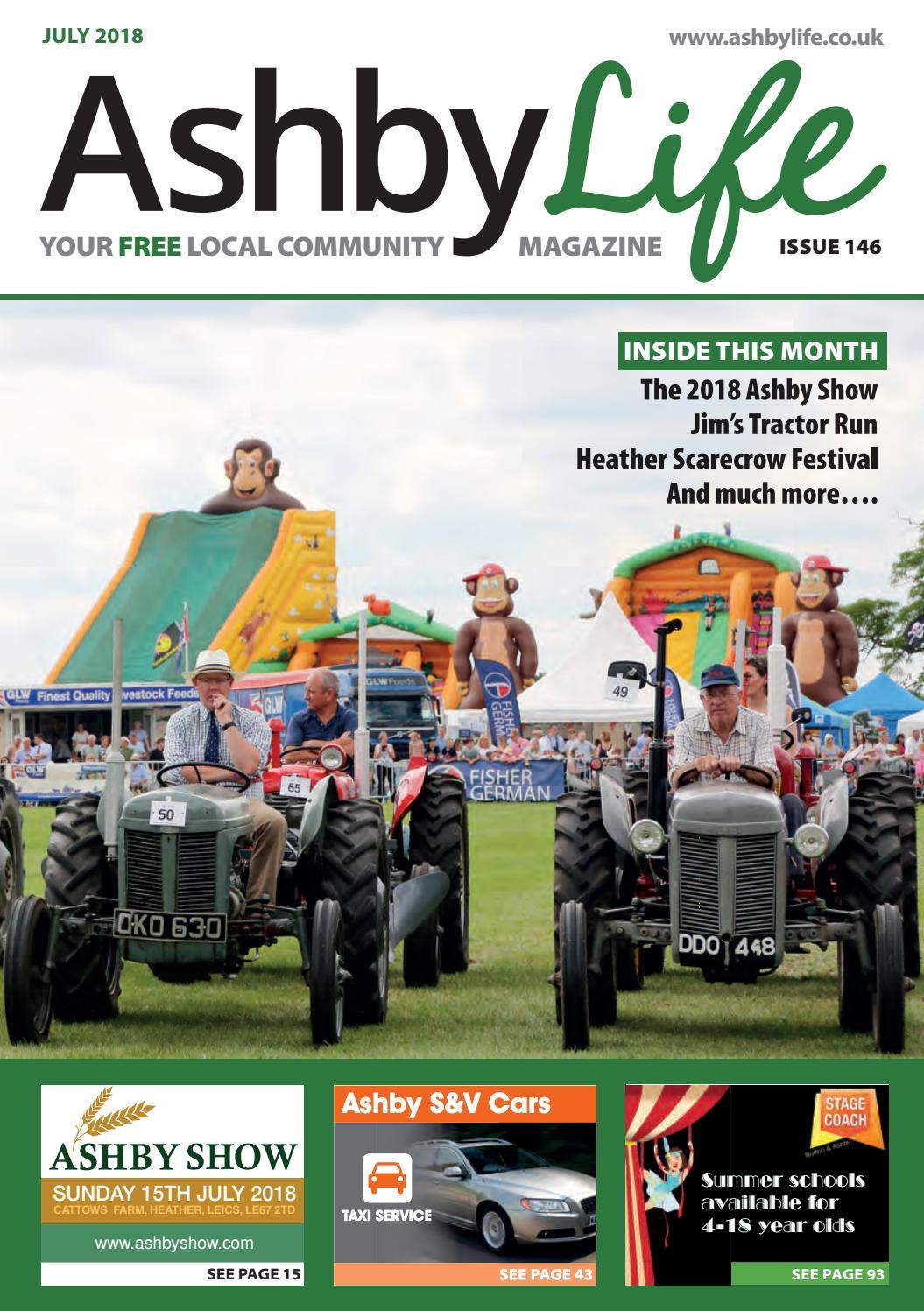 Ashby Life Magazine July 2018 By Ashby Life Issuu