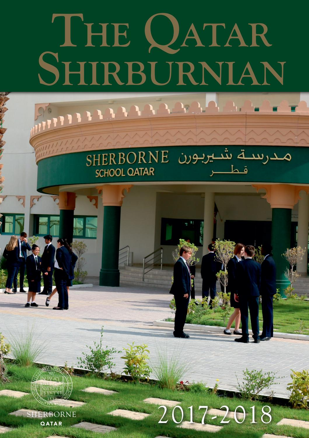 The Qatar Shirburnian 2017 18 by David Puddicombe - issuu