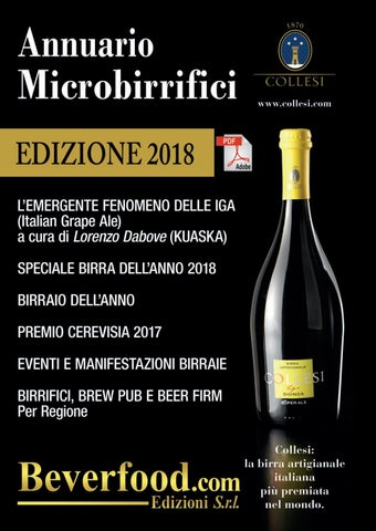 Annuario Microbirrifici 2018 beverfood.com by Marco Emanuele Muraca ... 653269f34d2
