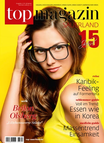 Top Magazin Sauerland Sommer 2018 By Top Magazin   Issuu