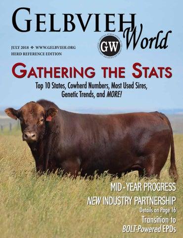 July 2018 Gelbvieh World by American Gelbvieh Association