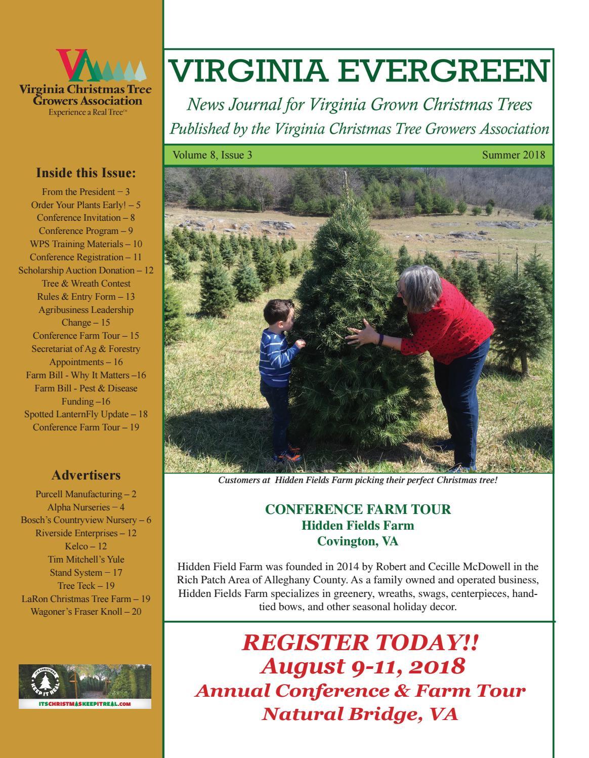 VCTGA Virginia Evergreen News Journal Summer 2018 by Jeff Miller - issuu