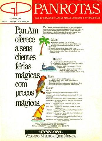 4f7c0c9c06bf2 Guia PANROTAS - Edição 211 - Outubro 1990 by PANROTAS Editora - issuu
