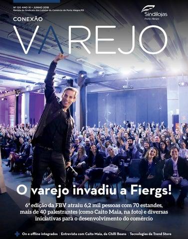 Conexão Varejo Junho 2018 by Sindilojas Porto Alegre - issuu 632f68ec68