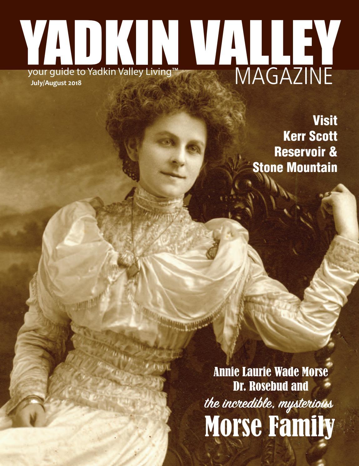 Yadkin Valley Magazine July August 2018 By Reel Pioneer Koverage Kv 6000 Issuu