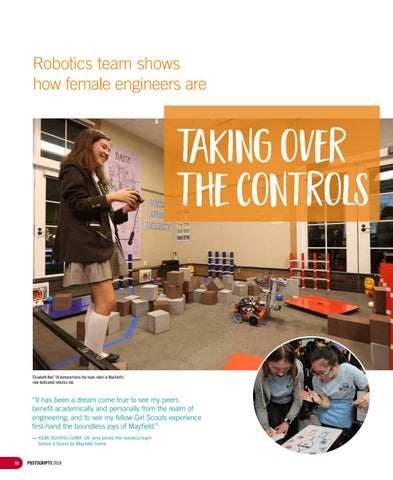 Page 16 of Robotics team shows how female engineers are taking over the controls