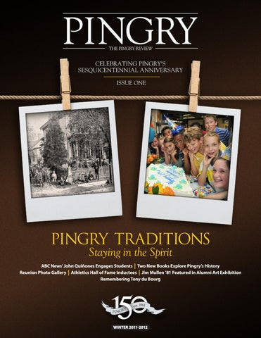 Pingry Review Winter 2011 2012 By The Pingry School Issuu