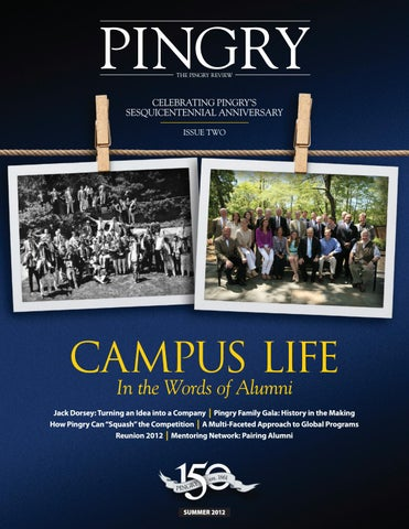Pingry Review Summer 2012 By The Pingry School Issuu