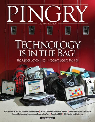 4b5cfea7fa81 Pingry Review, September 2013 by The Pingry School - issuu