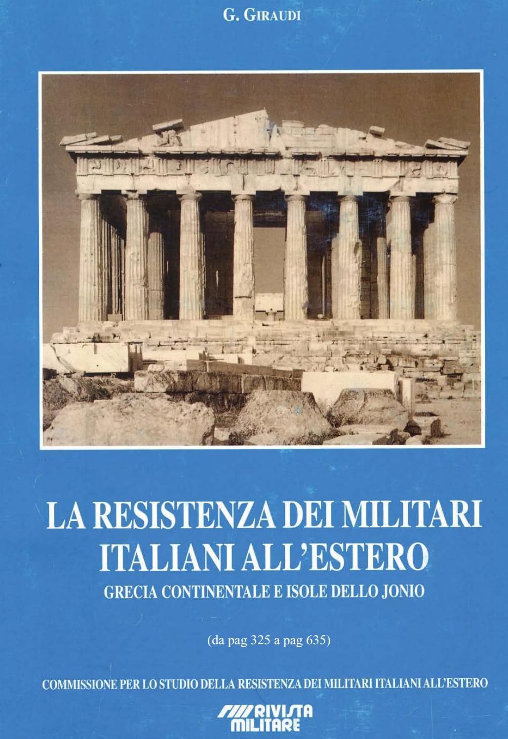 GRECIA CONTINENTALE E ISOLE DELLO IONIO (da pag 325 a pag 635) by  Biblioteca Militare - issuu 4cab55283d91