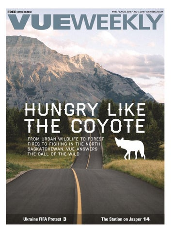 1183 Hungry Like The Coyote By Vue Weekly Issuu