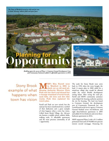Page 6 of Planning for Opportunity