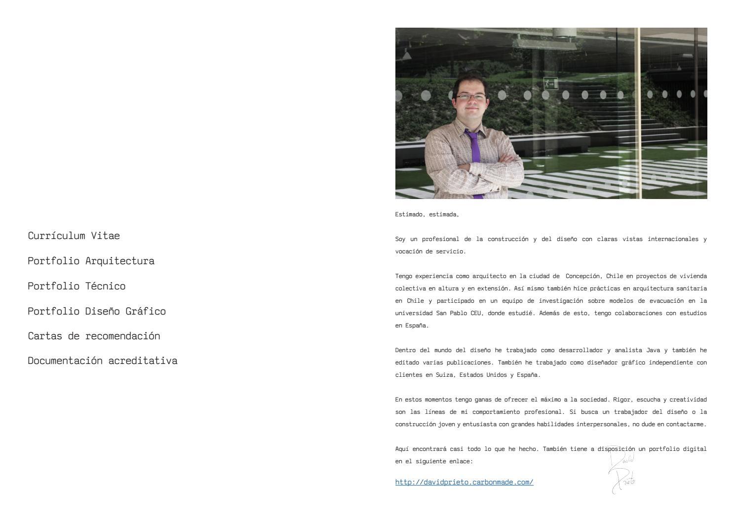 Dossier David Prieto Gonzalez by davidprietodeburgos - issuu