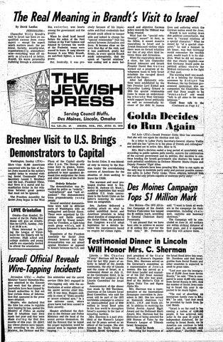 June 22 1973 By Jewish Press Issuu