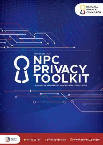 Privacy Toolkit by National Privacy Commission - issuu