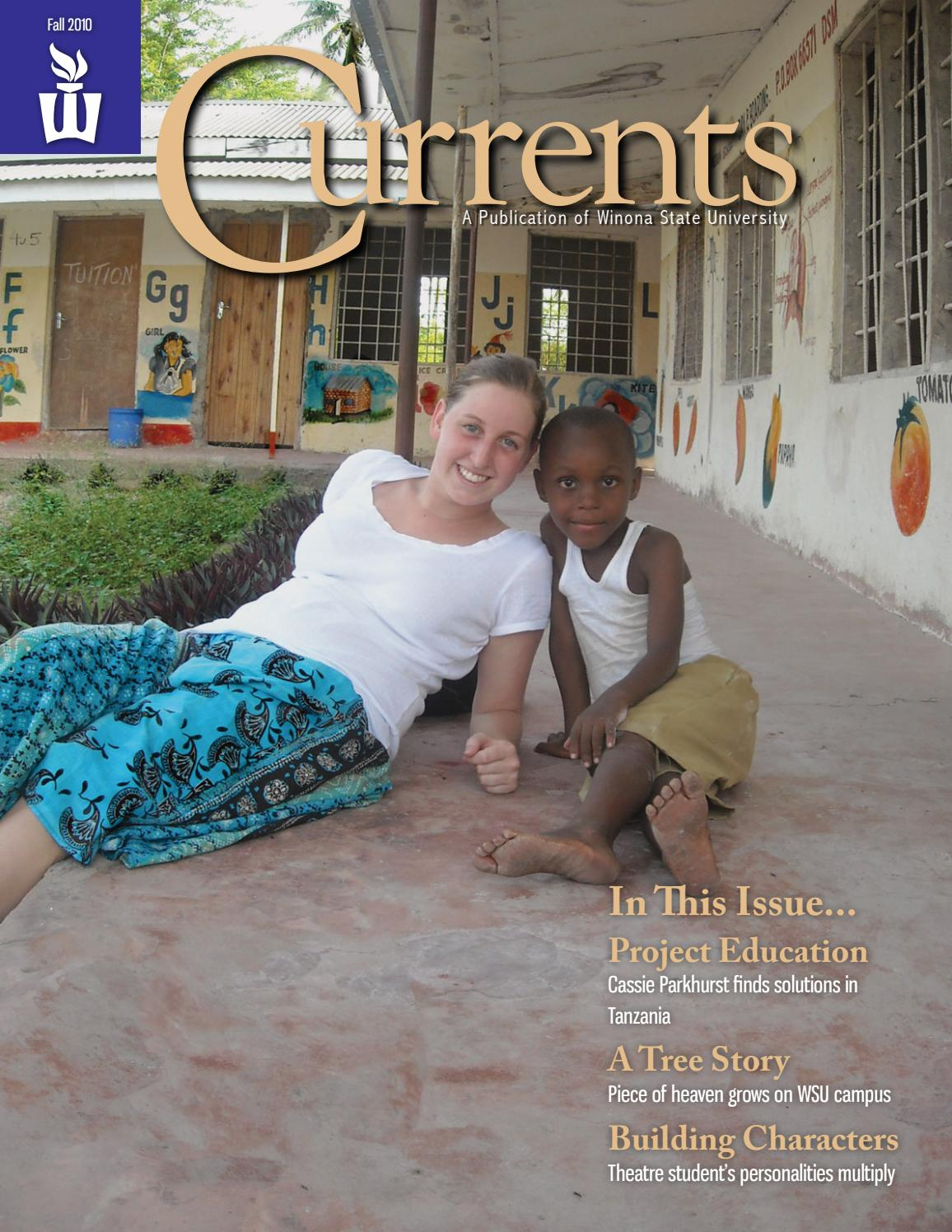 Winona Currents - Fall 2010 by wsuopenriver - issuu
