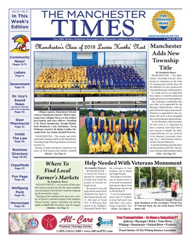 2018-06-30 - The Manchester Times
