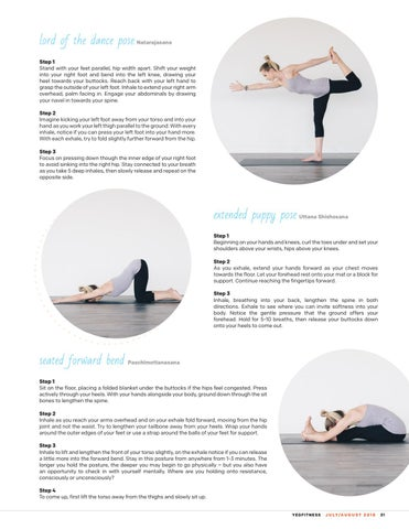 Page 31 of Yoga Postures to Clarify the Mind