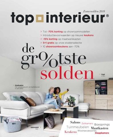 Soldenbrochure 2018 - Top Interieur Massenhoven by Topinterieur - issuu