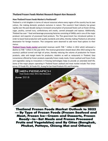 Thailand Seafood Companies