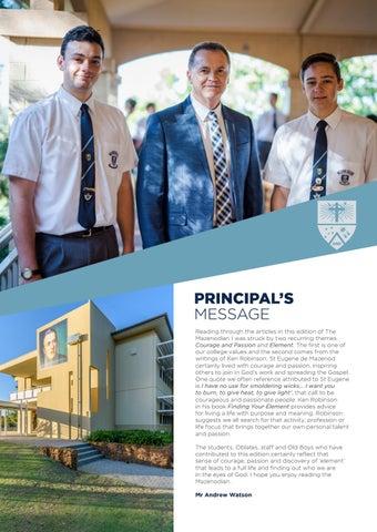 Page 3 of Principal's Message