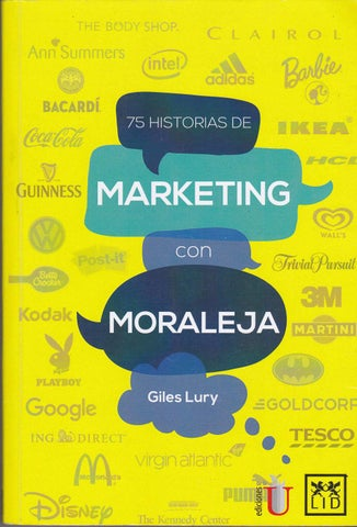 best loved be012 11f15 75 historias de marketing con moraleja - Lury, Giles by Fredy A ...