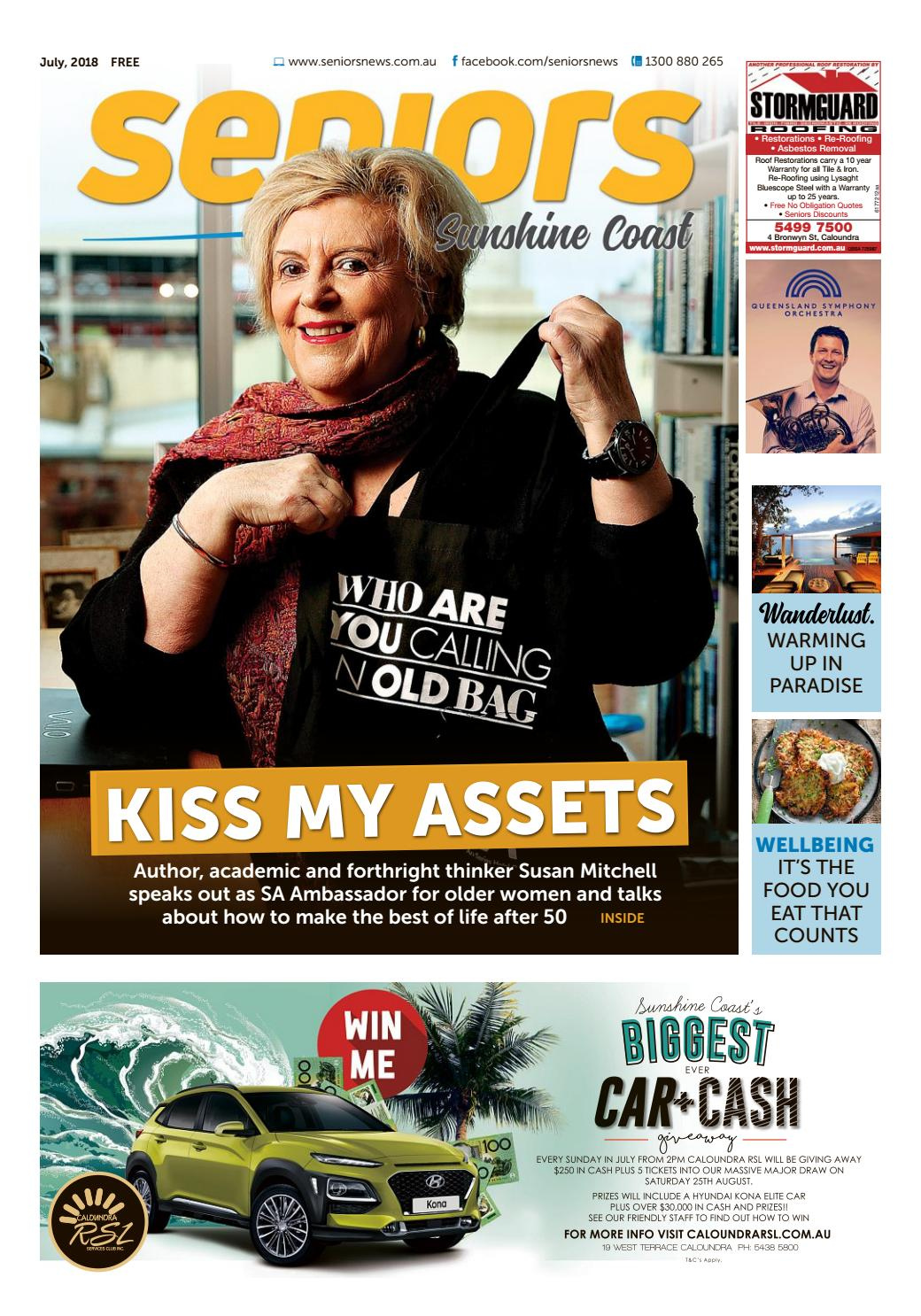 finest selection f8f38 cfefc Sunshine Coast, July 2018 by seniors - issuu