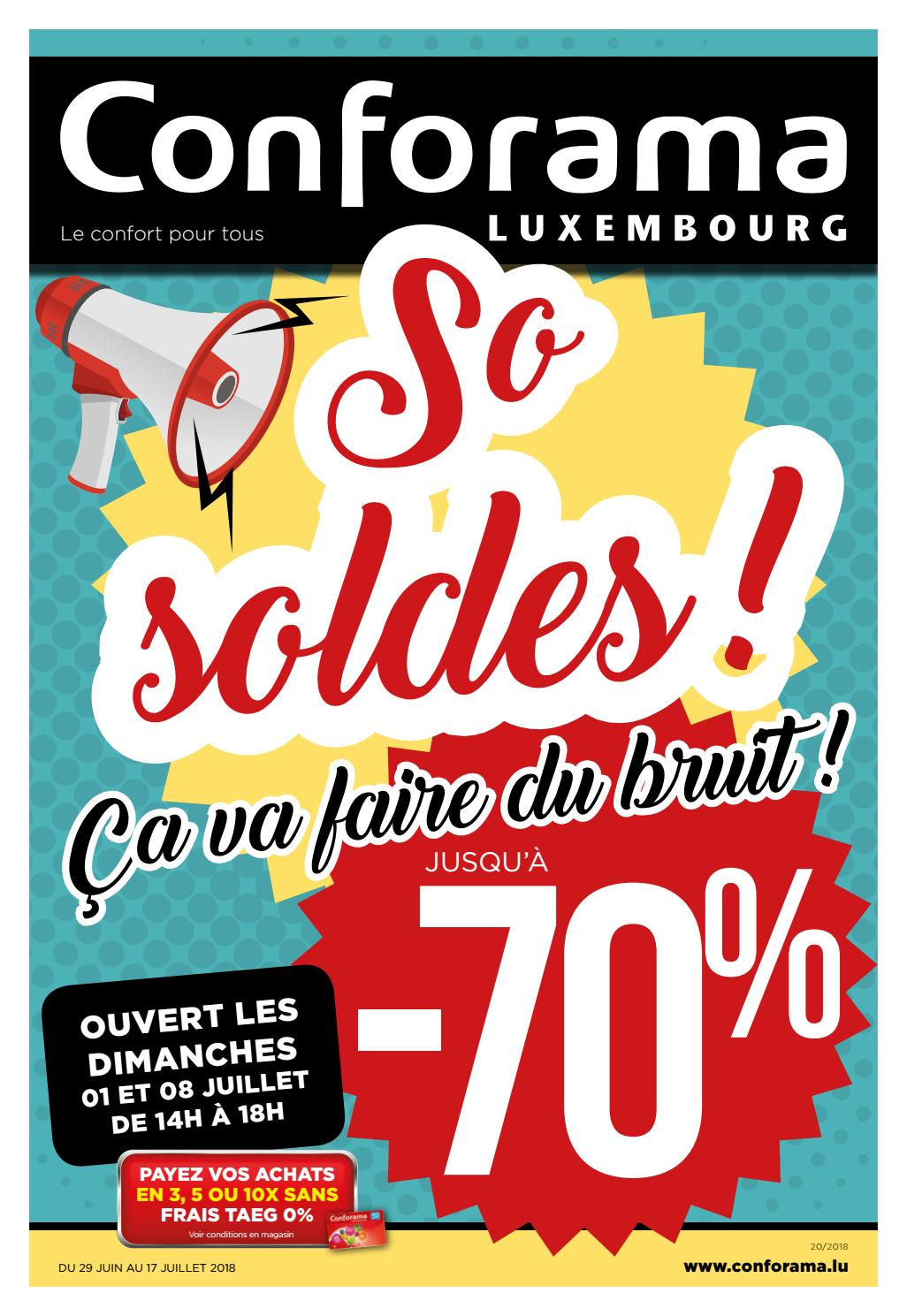 Doc 20 So Soldes By Conforama Luxembourg Issuu