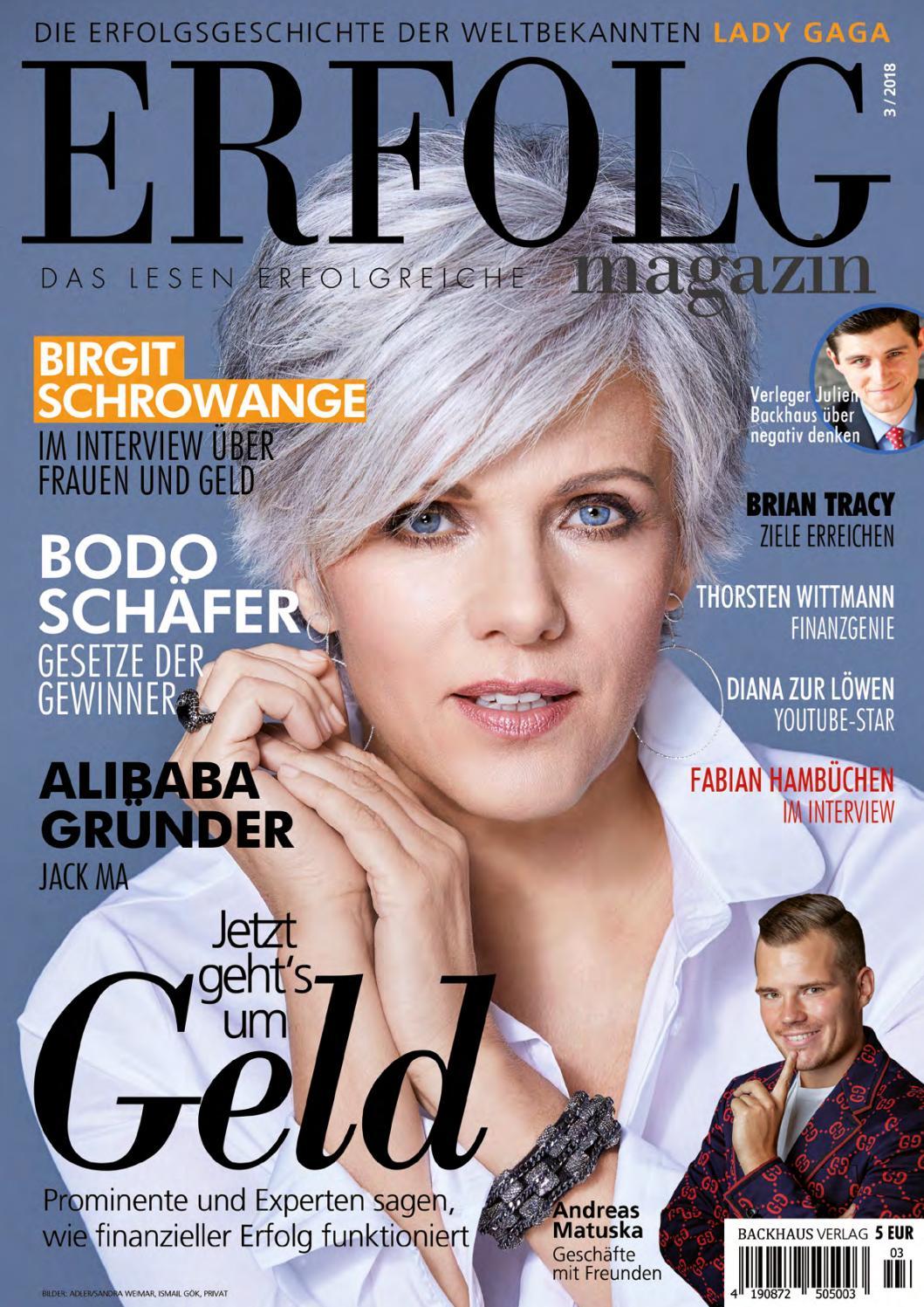Erfolg Magazin Ausgabe 3-2018 by ERFOLG Magazin - issuu